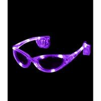 LED Sunglasses - Purple