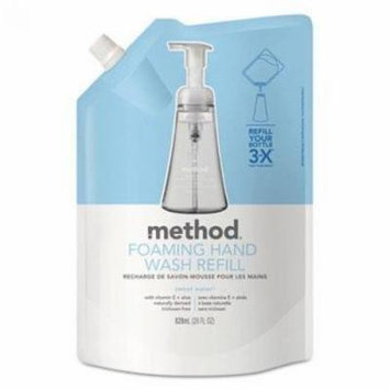 Method Foaming Hand Wash Refill Pouch Sweet Water 28 oz