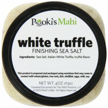 Pooki's Mahi White Truffle Salt, 4 Ounce