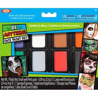 Ideal Face Painting Kit Zombies and Aliens