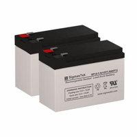 Sunrise Medical Pro Air Controller Medical Replacement Batteries (Set of 2 - 12V 7AH Batteries)