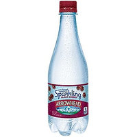 Nestle Arrowhead Sparkling Natural Spring Water, Black Cherry, 16.9 Fl Oz, 24 Count