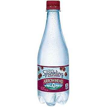Nestle Arrowhead Sparkling Natural Spring Water, Black Cherry, 16.9 Fl Oz, 24 Count