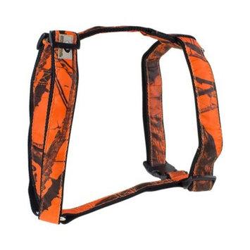 Mossy Oak Basic Dog Harness, Orange, Large
