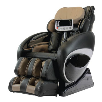 Osaki OS-4000T Deluxe Zero Gravity Heated Reclining Massage Chair With Foot Rollers Black