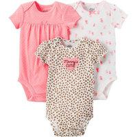 born Baby Girl 3 Pack Bodysuit