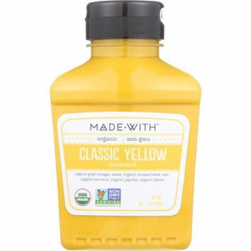 Made With Classic Yellow Mustard, 9 Oz (Pack Of 6)