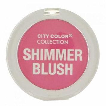 CITY COLOR Shimmer Blush - Fuchsia