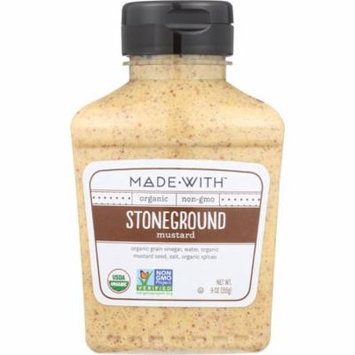 Made With Stoneground Mustard, 9 Oz (Pack Of 6)