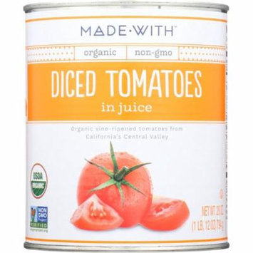 Made With Diced Tomatoes In Juice, 28 Oz (Pack Of 12)