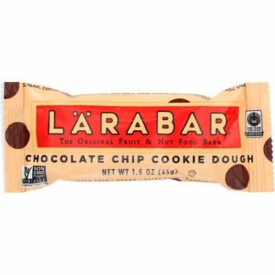 Larabar Chocolate Chip Cookie Dough Food Bar, 1.6 Oz (Pack Of 16)
