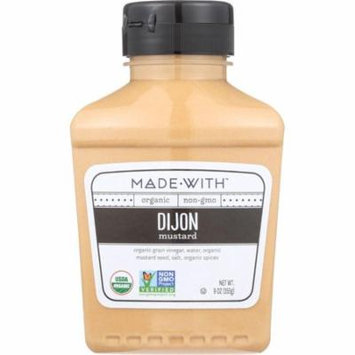 Made With Dijon Mustard, 9 Oz (Pack Of 6)
