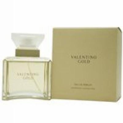 Womens Designer Perfume By Valentino, ( Valentino Gold EAU De Parfum Spray 3.3 Oz)
