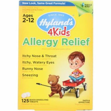 Hyland's Allergy Relief, Quick-Dissolving Tablets, 125 Tb