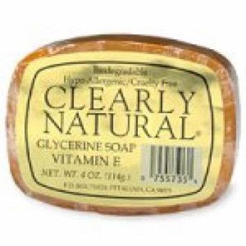 Clearly Natural Vitamin E Bar Soap - 4 oz