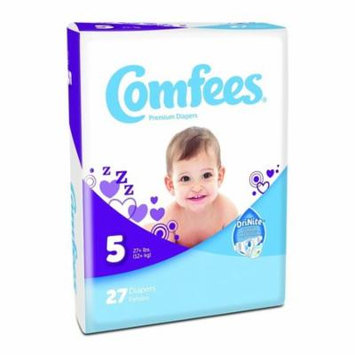 ATTENDS Baby Diaper Comfees Tab Closure Size 5 Disposable #CMF-5-BG