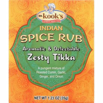 Mr Kooks Seasoning, Chicken Tikka, Medium Spicy, 1.23 Oz (Pack Of 6)
