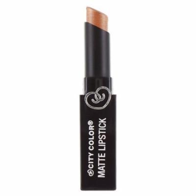 CITY COLOR Matte Lipstick L0050D - Pearl Bronze
