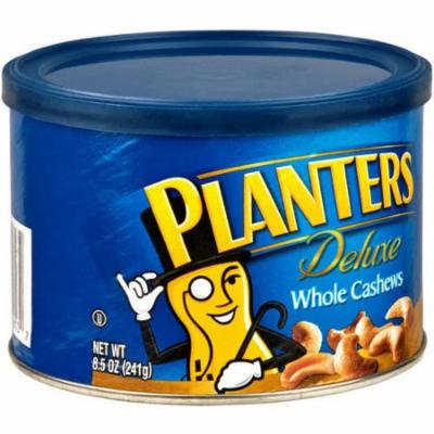Planters Deluxe Whole Cashews 8.5 Oz (Pack of 12)
