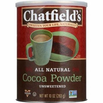 Chatfield's Premium Unsweetened Cocoa Powder, 10 Oz (Pack Of 6)
