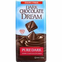 Dark Chocolate Dream Dark Chocolate Bar, Pure Dark, 3 Oz (Pack Of 12)