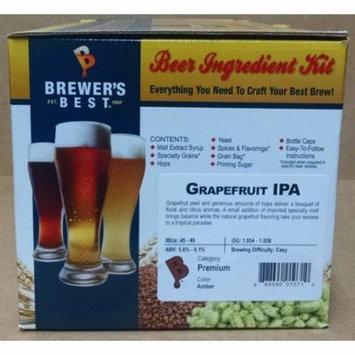 Brewer's Best Home Brew Beer Ingredient Kit - 5 Gallon (Grapefruit IPA)
