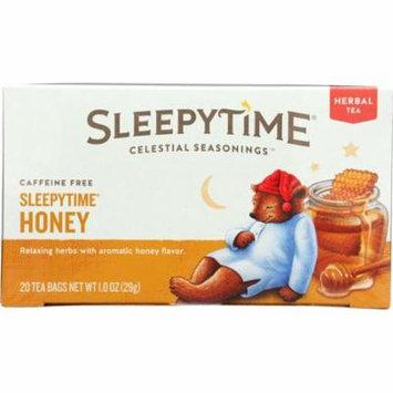Celestial Seasonings Sleepytime Honey Tea, 20 Count (Pack Of 6)