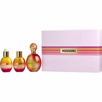 Missoni Set-Edt Spray 3.4 Oz & Body Lotion 3.4 Oz & Shower Gel 3.4 Oz