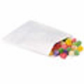 White Paper Candy and Cookie Bags Mini Pk 1/4 lb 25 Pack