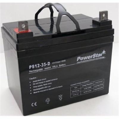 PowerStar agm1235-104 Battery 2 Year Warranty For John Deere Front Mower F680