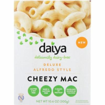 Daiya Cheezy Mac, Deluxe, Alfredo Style, 10.6 Oz (Pack Of 8)