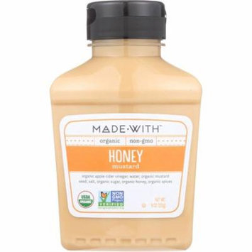 Made With Honey Mustard, 9 Oz (Pack Of 6)