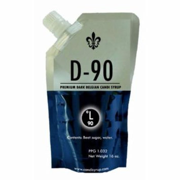 D90 DARK BELGIAN CANDI SYRUP Clear 1 lb.