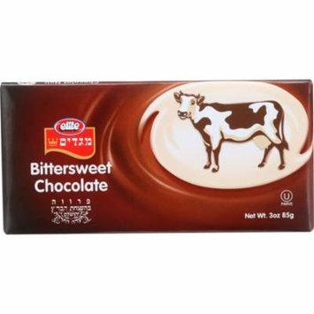 Elite Chocolate Bar Bittersweet, 3.5 Oz (Pack Of 12)