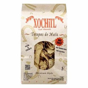 Xochitl Totopos De Maiz Stone Ground Chips, 16 Oz (Pack Of 9)