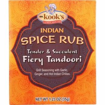 Mr Kooks Seasoning, Tandoori Chicken, Medium Spicy, 1.23 Oz (Pack Of 6)