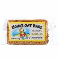 Bobo's Oat Bars Banana Oat Bar, 3 Oz (Pack Of 12)
