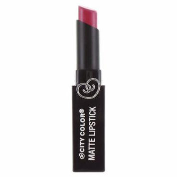 CITY COLOR Matte Lipstick L0050A - Fig