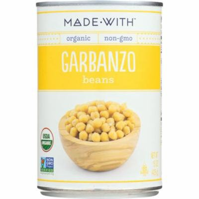 Made With Garbanzo Beans, 15 Oz (Pack Of 12)