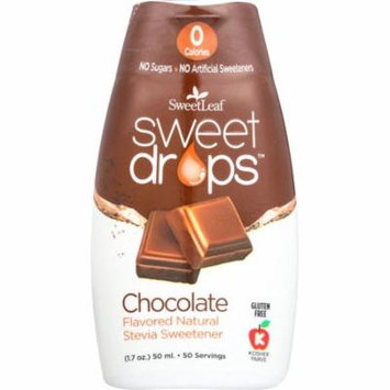 Sweetleaf Sweetener, Natural Stevia, Chocolate Flavored, 1.7 Oz (Pack Of 12)