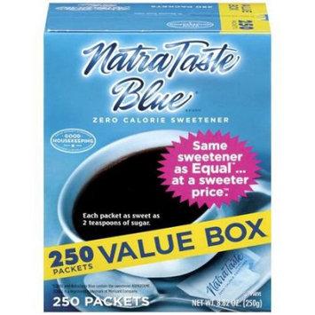 Natra Taste Zero Calorie Sweetener, 250 CT (Pack of 2)