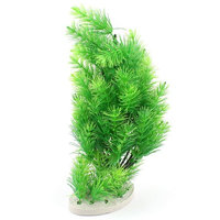 Green Plastic Pine Tree Emulational Underwater Plants for Fish Tank Aquarium