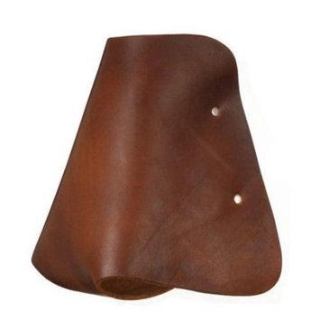 Royal King Medium Brown Leather Hooded Stirrups