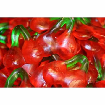 BAYSIDE CANDY HARIBO TWIN CHERRIES GUMMY CANDY, 1LB