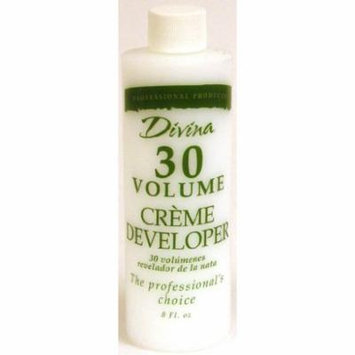 Divina Cream Developer - 30 Volume 8 oz. (Pack of 2)