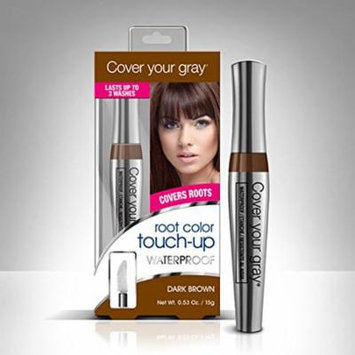 Cover Your Gray Waterproof Root Color Touch up - Dark Brown (Pack of 4)
