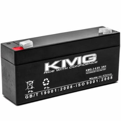 KMG 6V 3 Ah Replacement Battery for North Supply 782362