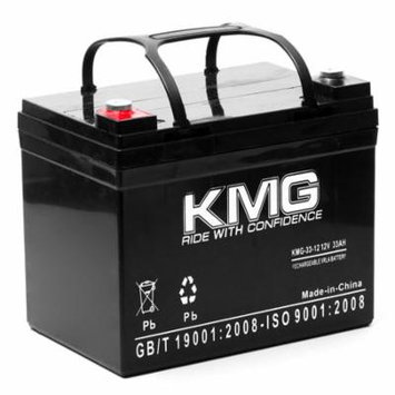 KMG 12V 33Ah Replacement Battery for Theradyne Wheelchairs AGM1234T
