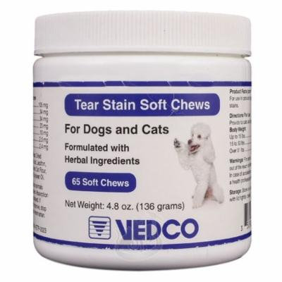 Details about Tear Stain Soft Chews (65 count) by Vedco