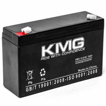 KMG 6V 10Ah Replacement Battery for EDWARDS 1602 1604 1611 1628 1631 1632 1799110ST